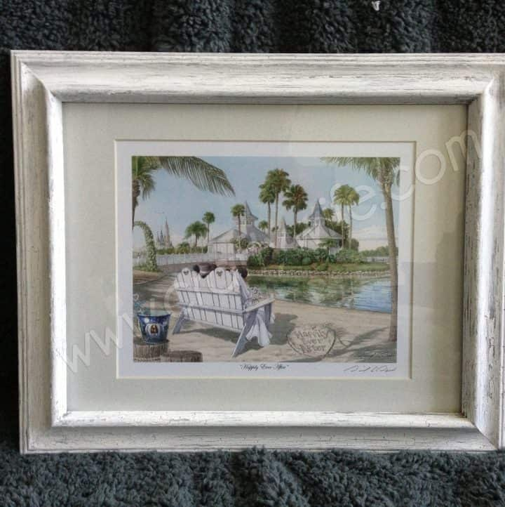 Weathered Picture Frame