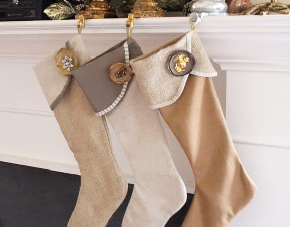 15 Cute and Easy Christmas Stockings