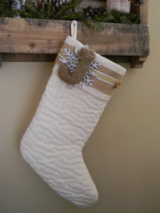 Semi-Homemade Stockings from The Fancy Stanton