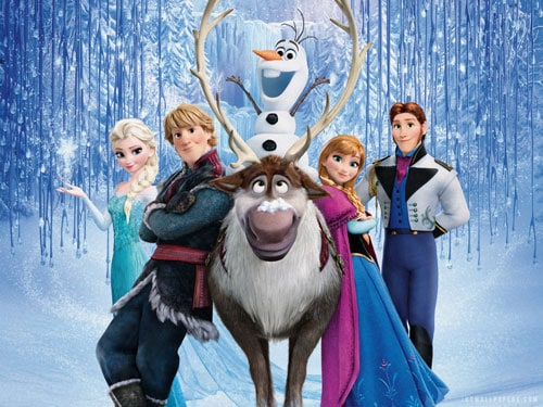 frozen-cast-with-olaf