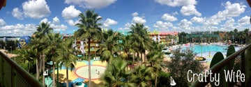 Disney's Pop Century Resort is a great option for those on a budget!