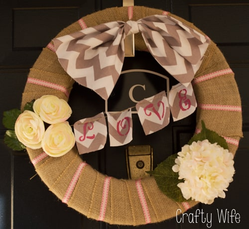 Valentines Day Wreath | Grapevine Wreath | DIY | Home Decor | DIY Wreath | Valentines Day Crafts | Valentines Day DIY