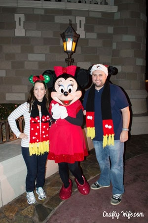 Our Christmas ears were the only thing we bought on our Thanksgiving trip to Disney.  They were an expense we had talked about beforehand, so there were no impulse buys for us!