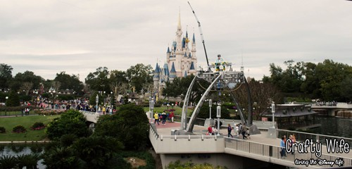 Cinderella's Castle from the People Mover Ride