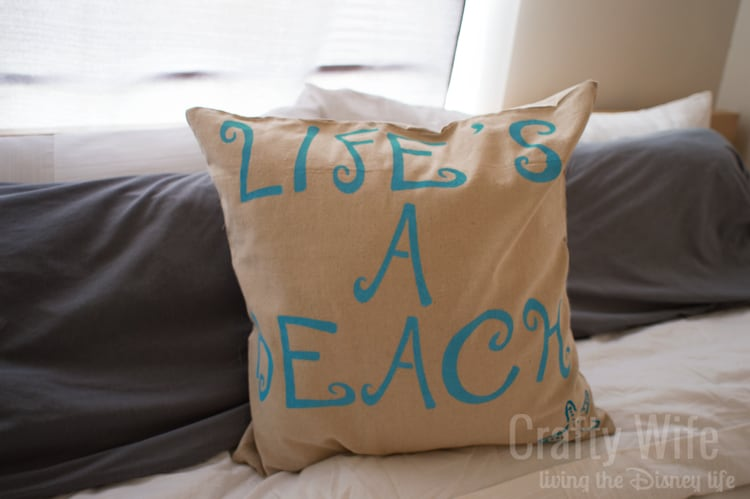 Life's-a-Beach-Stenciled-Pillow