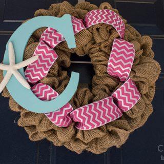 Stars & Stripes Beach Wreath
