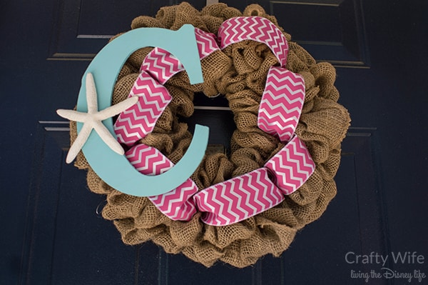 Stars & Stripes Beach Wreath