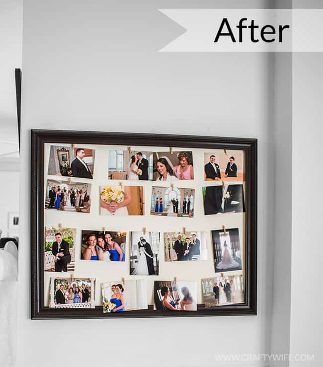 Easy Framed Picture Display 4