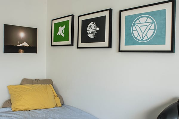 Minimalist Artwork Using Vinyl Decals