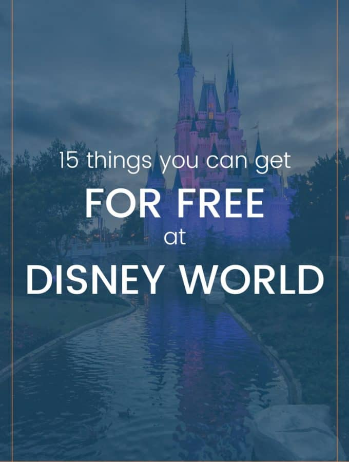 Want to plan ahead and save some money before heading to Florida? Click over to the blog for the full list of 15 FREE things at Disney World!