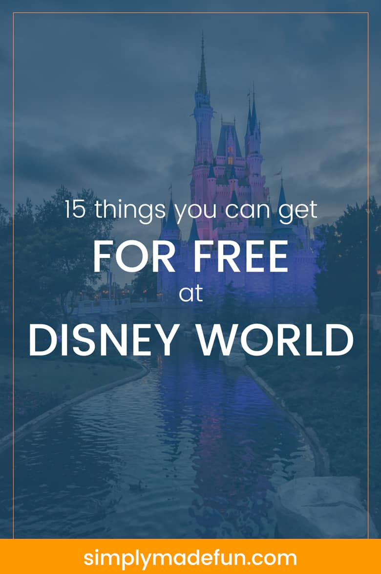 Free things at Disney World - Save money on your next trip to Disney World with these family vacation tips! #disneyworld #familyvacation #moneysavingtips