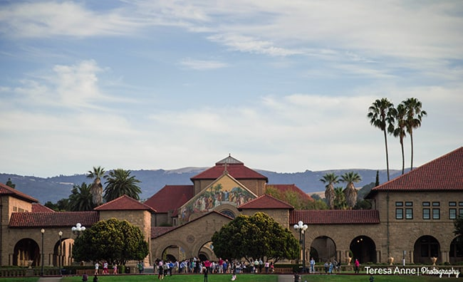 I really wanted to go to Stanford University since we were staying just a few miles from it.  The campus didn't disappoint, it's beautiful!