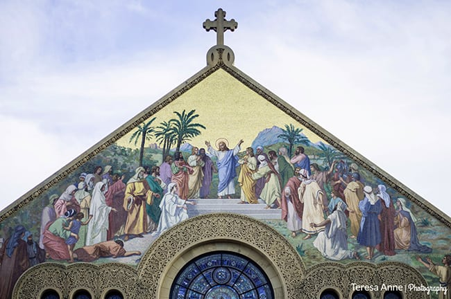 This was the chapel at Stanford.  The architecture in California is gorgeous.  I really love the Spanish style!