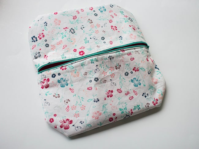 Boxy Cosmetic Bag fail