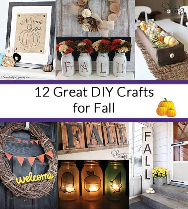 12 Great DIY Crafts for Fall