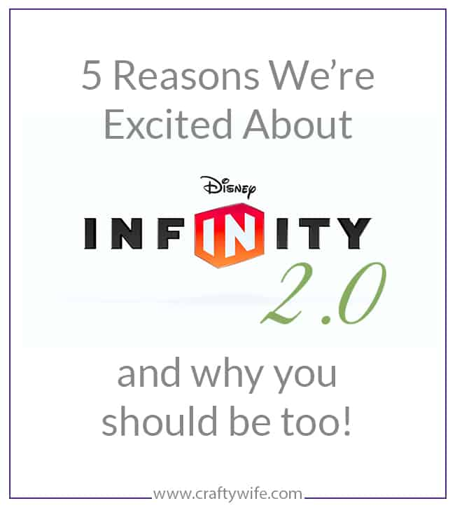 Why you should look into Disney Infinity 2.0 for good old fashioned family fun!