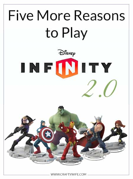 Five More Reasons to Play Disney Infinity 2.0