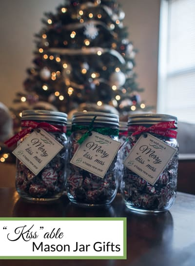 Kissable Mason Jar Gifts
