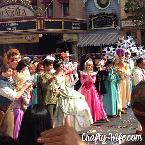 I completely missed Nick Cannon in this picture at first, but I was probably too busy looking at all the Princesses!
