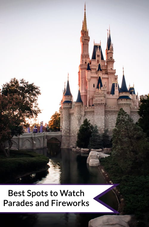 Best Spots for Parades & Fireworks at WDW