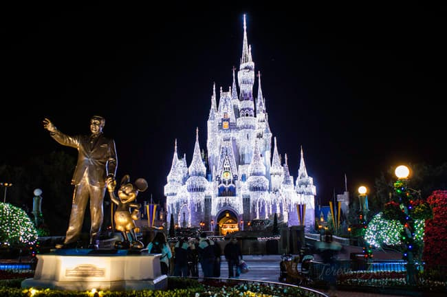 Six of the best spots for parades & fireworks shows at Walt Disney World's Magic Kingdom!