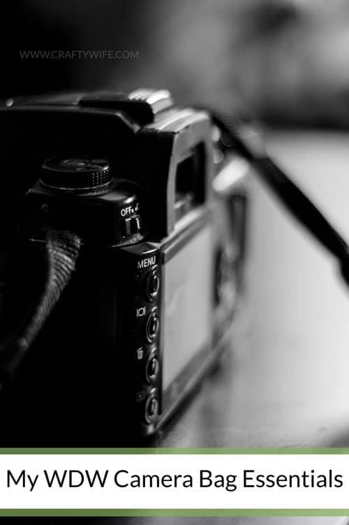 My WDW Camera Bag Essentials