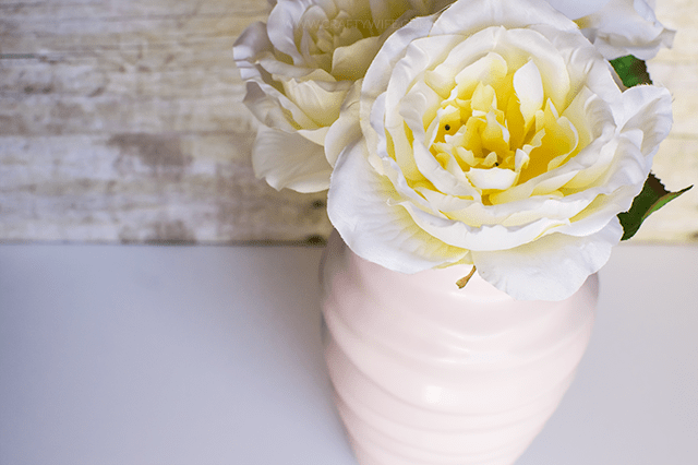 Easy Chalk Paint Vase Update