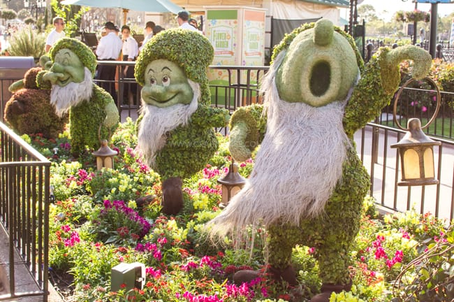 Epcot in the Spring | Disney Travel | Disney World | Disney on a Budget | Epcot's Flower and Garden Festival | Disney Vacation Tips