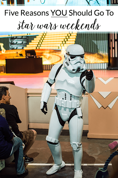 Star Wars Weekends at Disney World aren't just geared towards the die-hard fan, anyone can have a good time if you're up for it! Check out these 5 reasons attending this event is worthwhile, even for the most casual Star Wars fans!