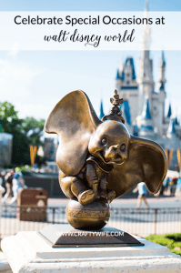 Treat every Disney Vacation like the special occasion it is with these six easy tips to celebrate while you're at the parks. Celebrating special occasions at Disney is a fun way to make the most magical of vacations even more memorable!