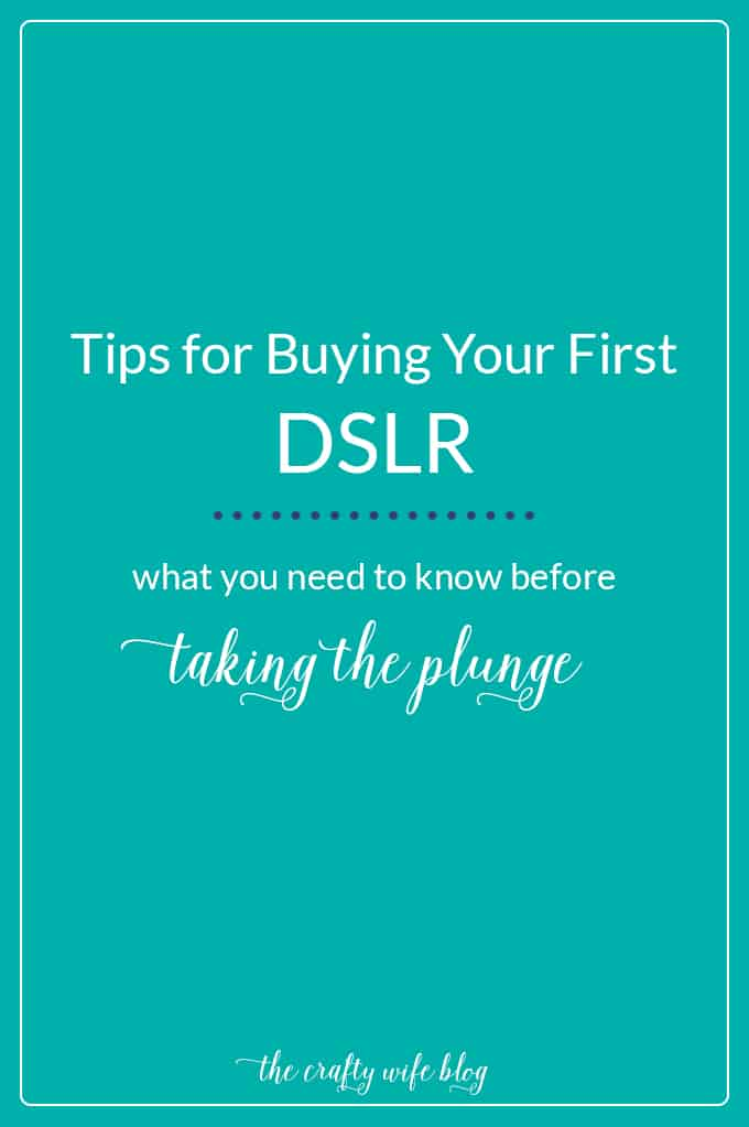 Before you buy your first DSLR, ask yourself what's important to you and what you need/want out of your first camera. Plus a few other important questions!