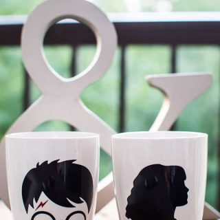 His & Her's Harry Potter Mugs