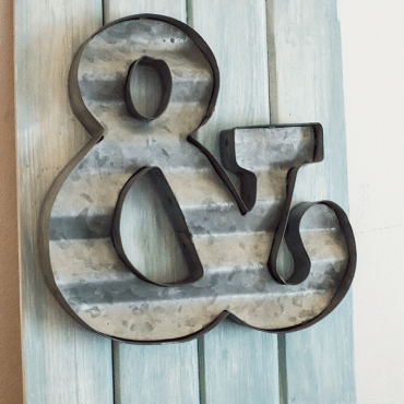 Nursery Ampersand Art