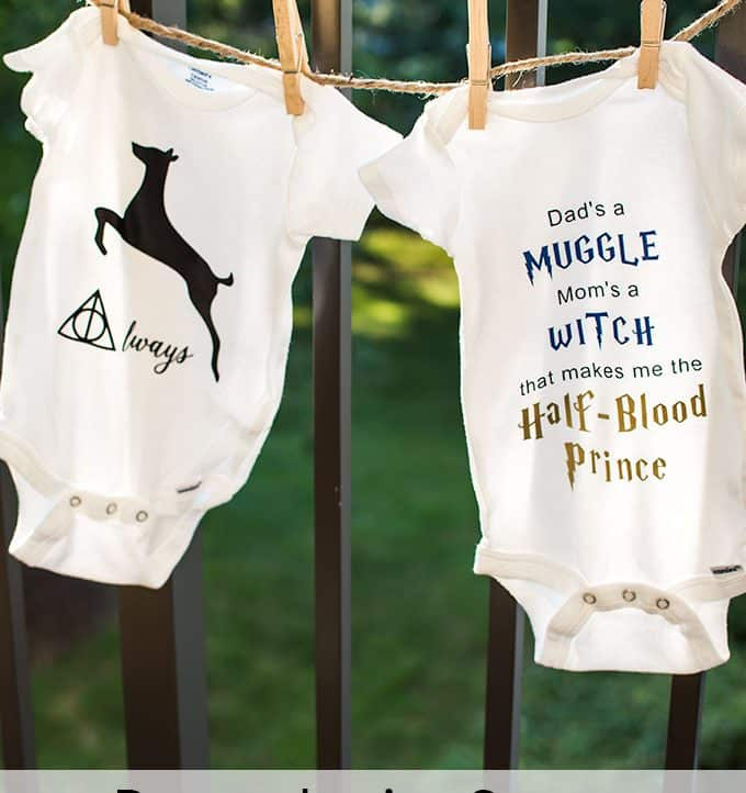 Harry Potter Inspired Onesies