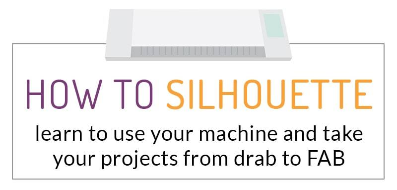 how to use your silhouette machine