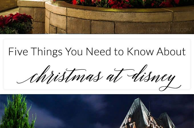Five Things To Know About Christmas at Disney