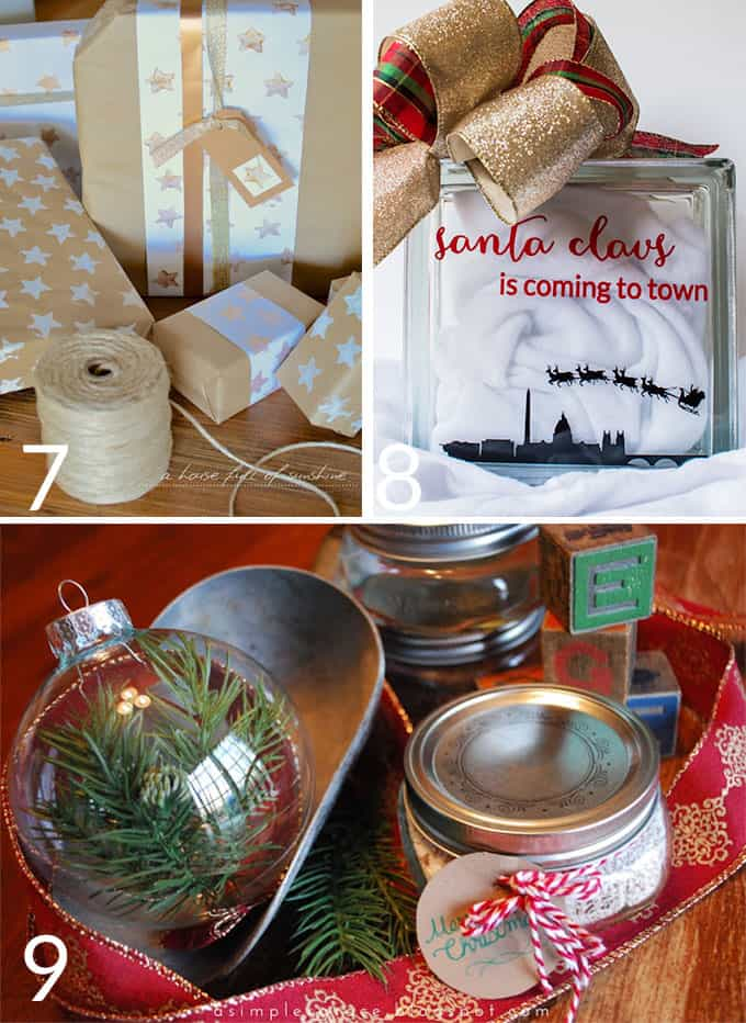 Eighteen of the easiest Creative Christmas Crafts that are perfect for the beginner crafter!