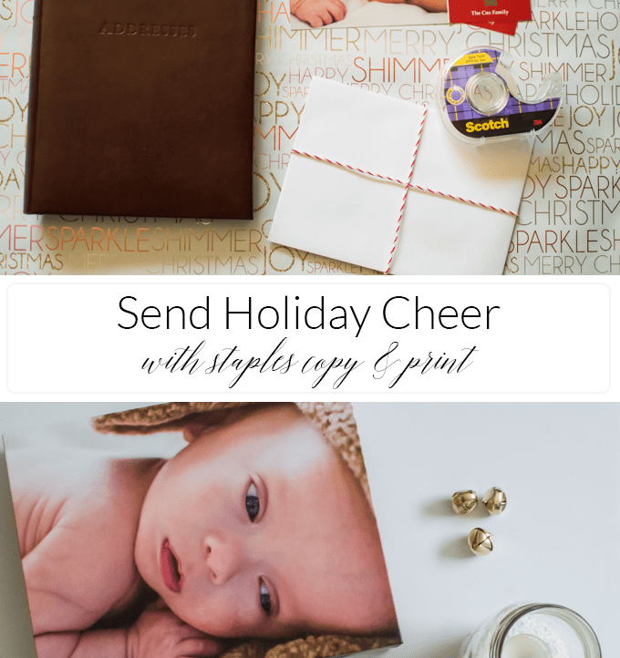 Sending Holiday Cheer with Staples Copy & Print