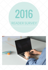 What do you want to see this year on the Crafty Wife blog? Fill out this six question reader survey to let me know!