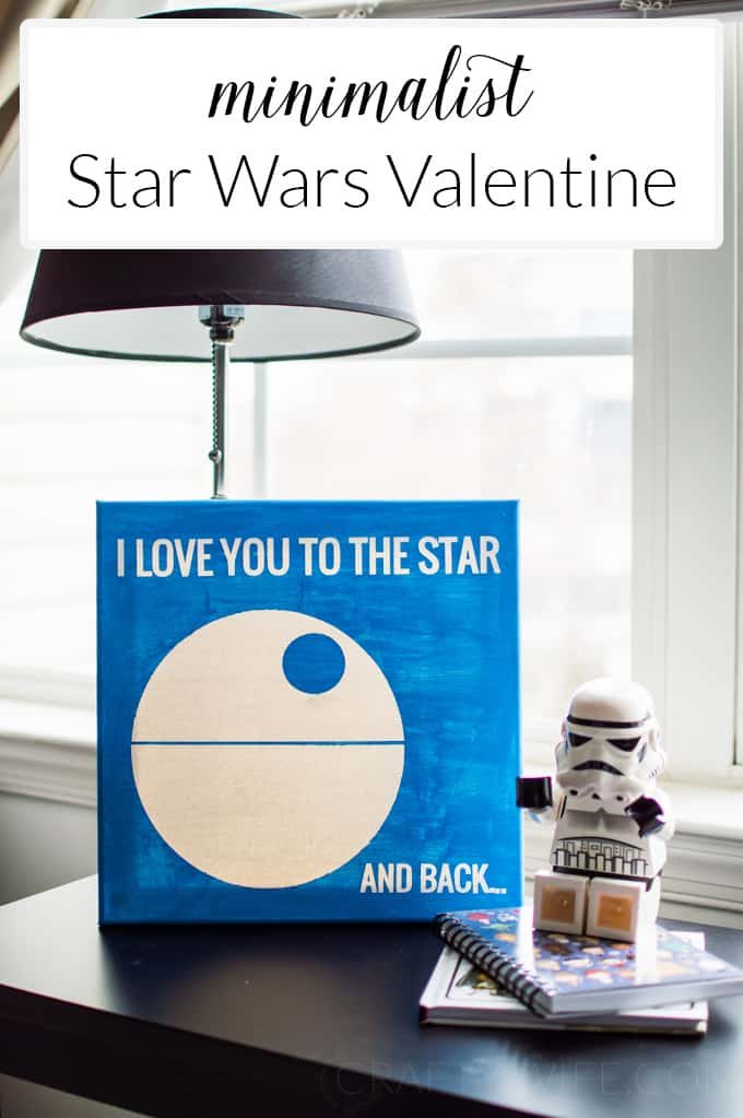Give a Star Wars fan a little love from the Empire this Valentine's Day. You can even make your own with the Star Wars file that's included!
