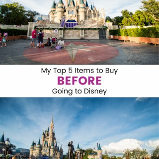 My Top 5 Items to Buy Before Going to Disney