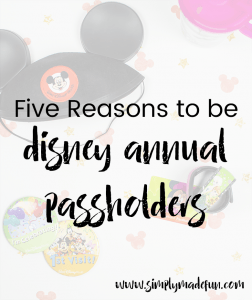 If you're considering becoming Disney Annual Passholders but aren't sure the price is worth it, I'm breaking it down & showing you why we think it is!