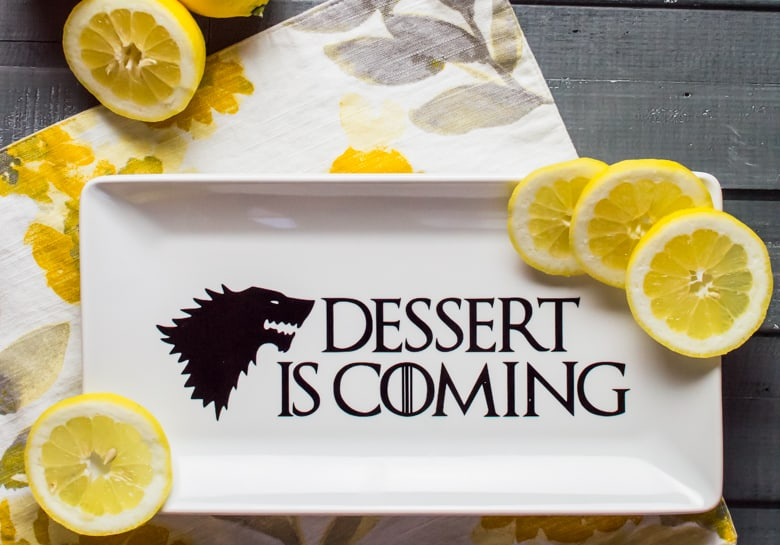 Game Of Thrones Inspired Dessert Plate Simply Made Fun
