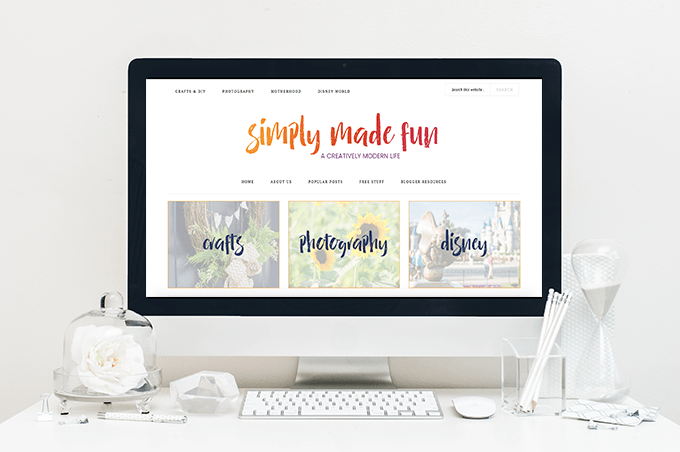 The past two months have been really busy with some big changes for the blog. I've changed Crafty Wife to Simply Made Fun!