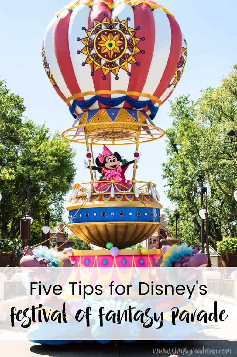 Don't miss out on Disney's Festival of Fantasy parade! Be less stressed and have more fun with these simple tips to get the most out of the show.