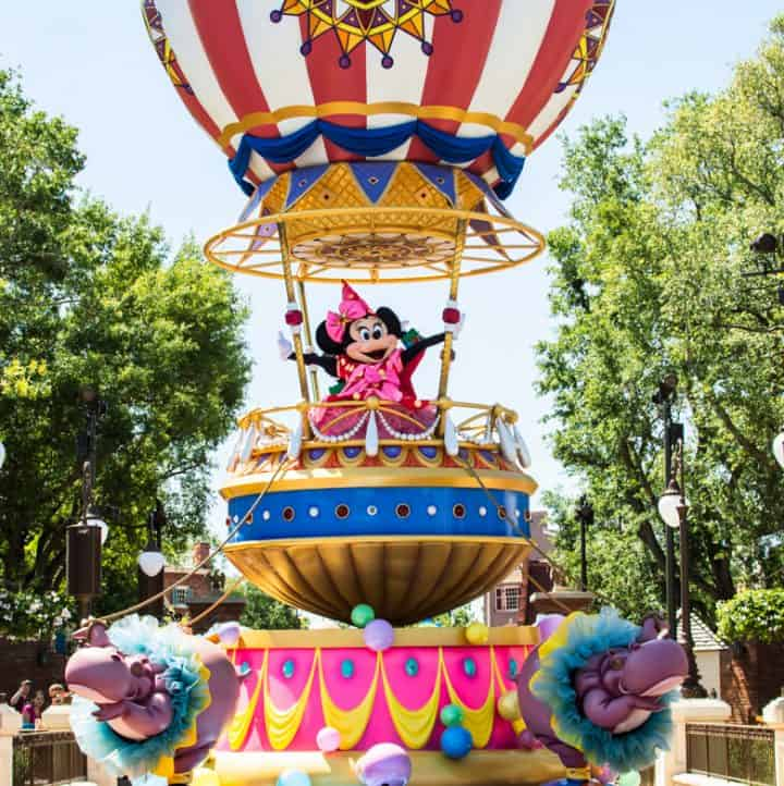 Five Tips for Disney's Festival of Fantasy Parade