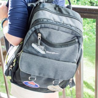 How to Pack a Minimalist Disney Diaper Bag