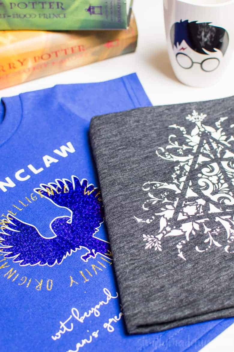 How to Make Harry Potter T-Shirts with Layered Vinyl