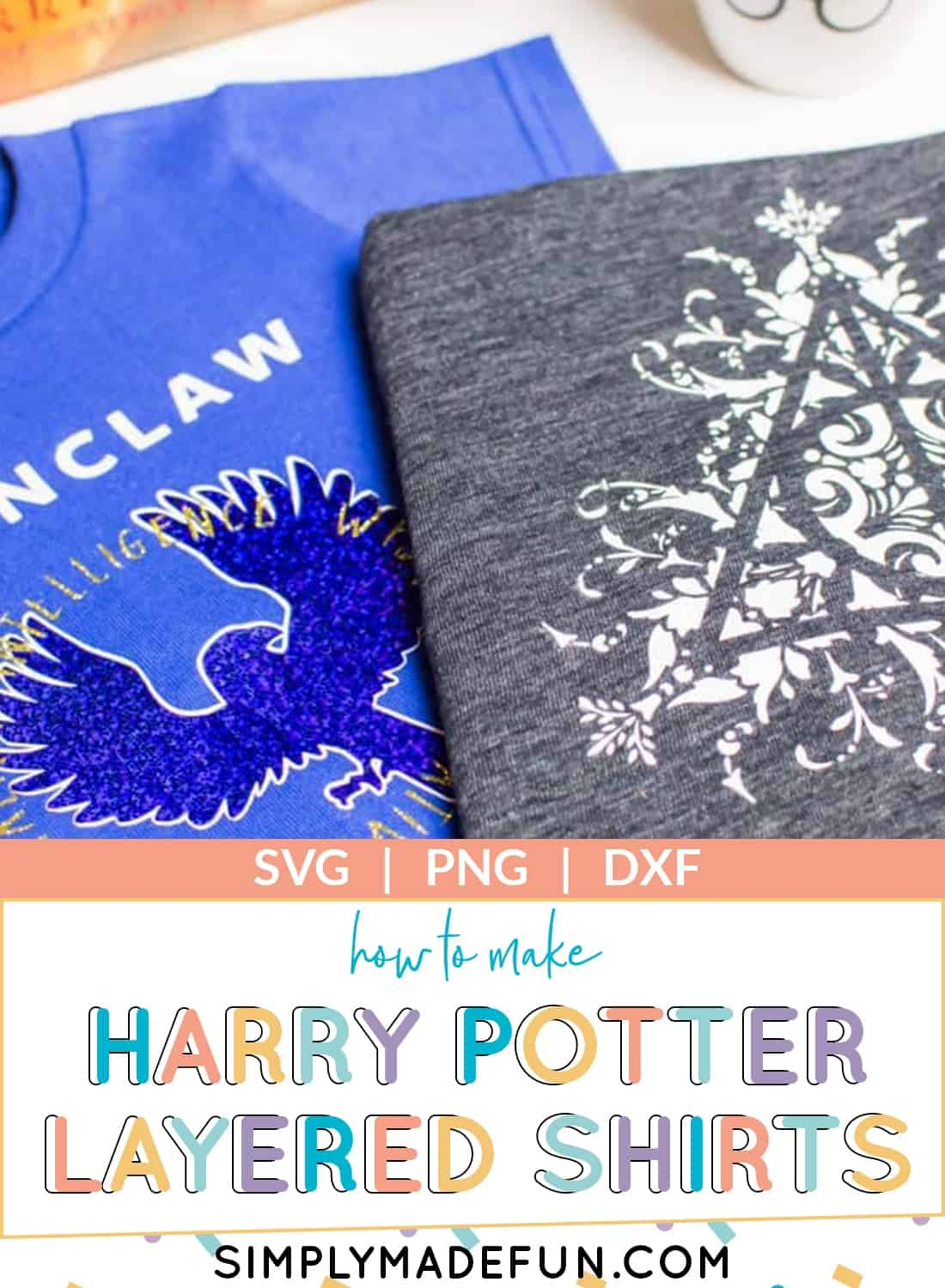 Harry Potter t-shirts with Layered vinyl