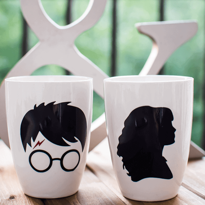 His & Hers Harry Potter Mugs